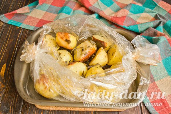 поджаристая картошка