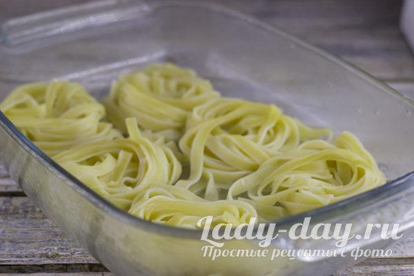 подготовить макароны