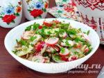 Салат с крабовыми палочками, рецепт с фото очень вкусный