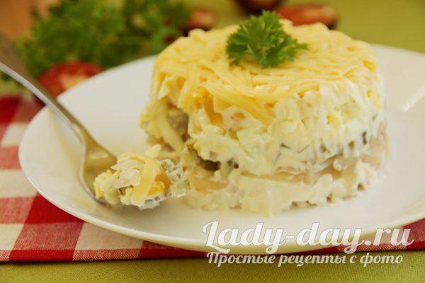 рецепт салата затмил шубу и оливье