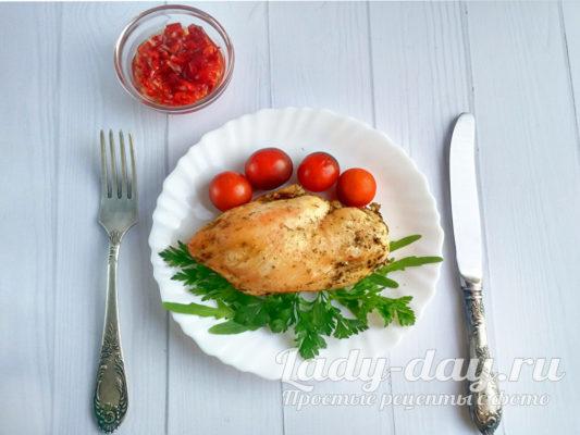 ужин из куриной грудки