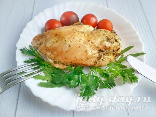 подаем зелень и овощи к курице