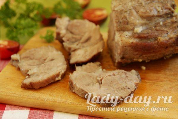 готовая свинина