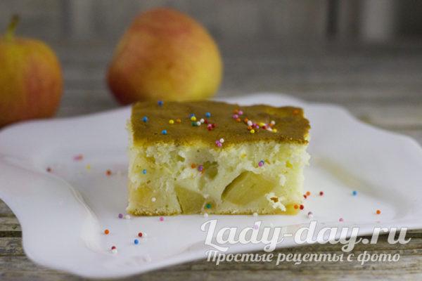 Тающий во рту яблочный пирог