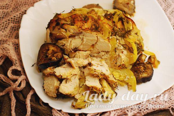 грудка куриная запеченная в духовке