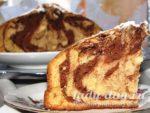 кекс мраморный рецепт с фото пошагово в духовке