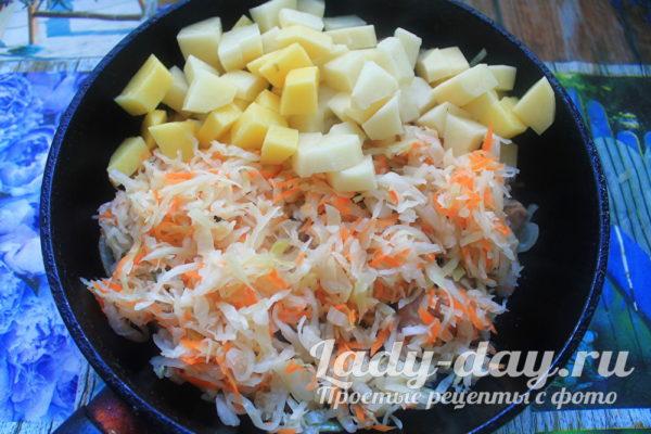 капуста с картошкой