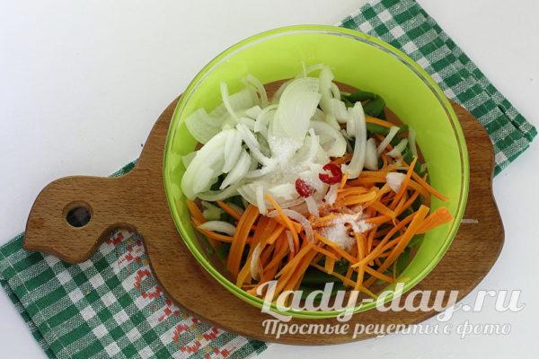 овощи нарезаные