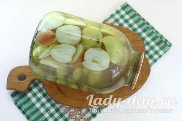компот из винограда и яблок на зиму