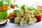 Цветная капуста - рецепт быстро и вкусно