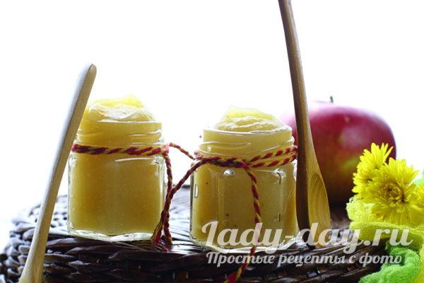Яблочное пюре с бананом на зиму рецепт