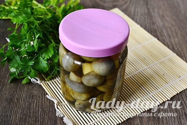 Вкусный маринад для грибов на 1 литр воды