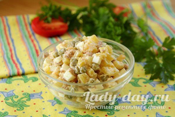 порция салата
