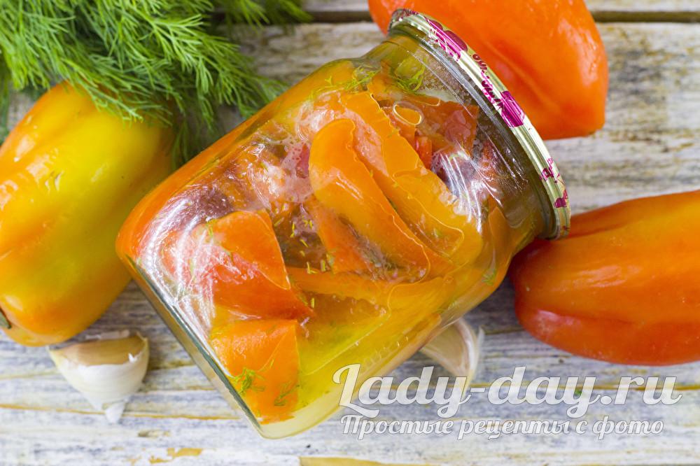 консервированный перец