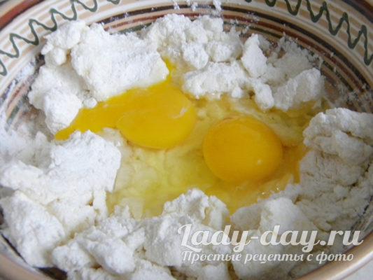 ввести яйца