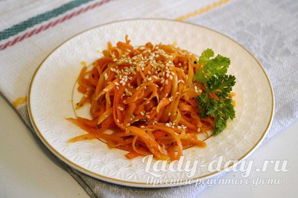 салат из моркови рецепт с фото