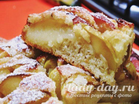 яблочный пирог который тает во рту