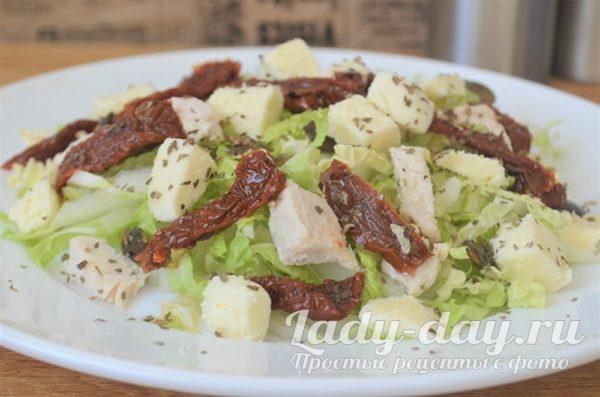 салат с пекинской капустой и помидорами рецепт