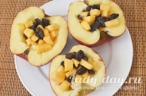 яблоки с тыквой