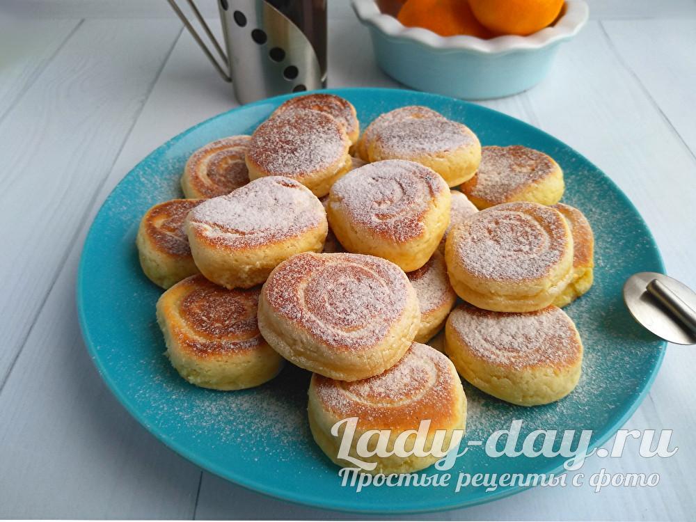 Быстрое печенье без духовки