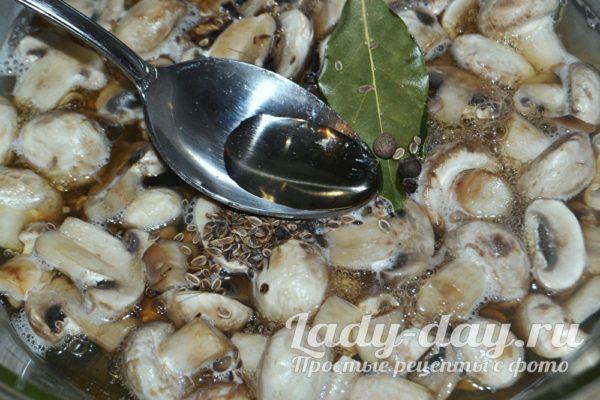 варим грибы