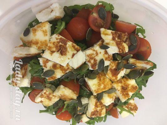 тыквенные семечки в салате