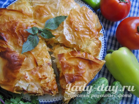 пирог с грибами и сыром в духовке