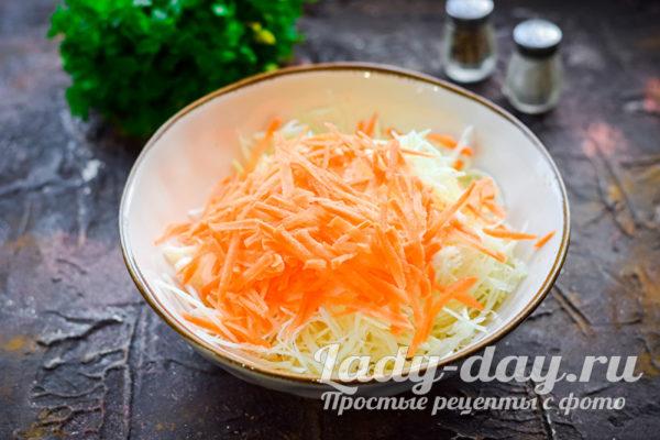 шинковать морковь