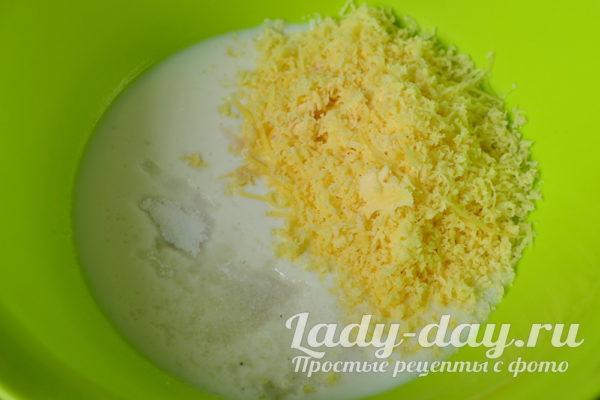 кефир и сыр