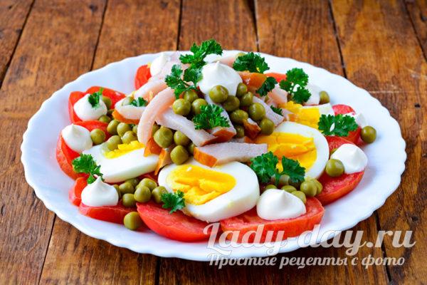 промазать салат
