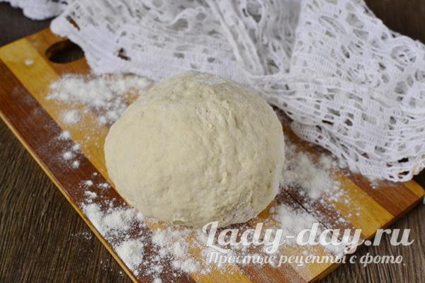 Дрожжевое тесто для пирожков, как пух