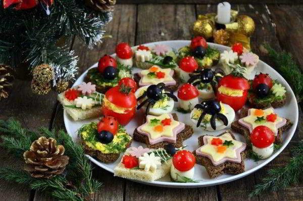 Закуски на Новый 2019 год: рецепты рекомендации