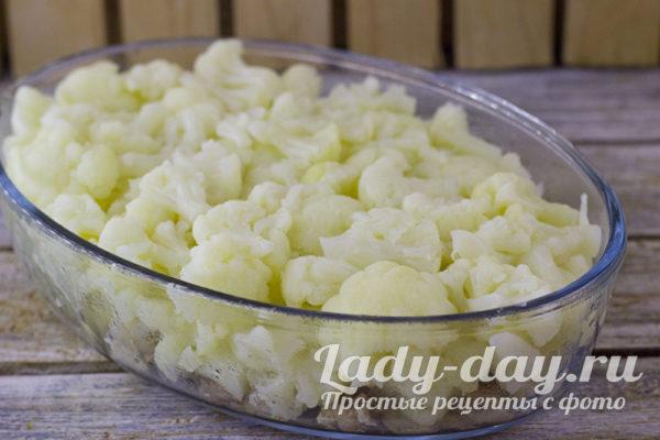 положить капусту