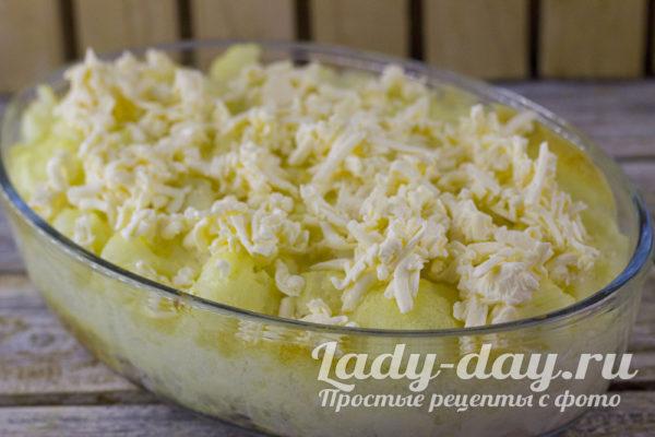 покрыть сыром