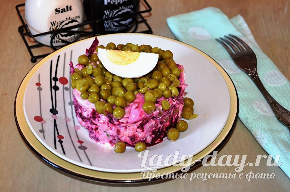 Салат из свеклы: рецепт с фото простой и вкусный на каждый день