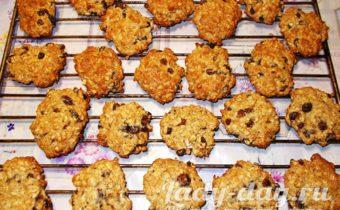 Овсяное печенье из овсяных хлопьев, рецепт с фото пошагово