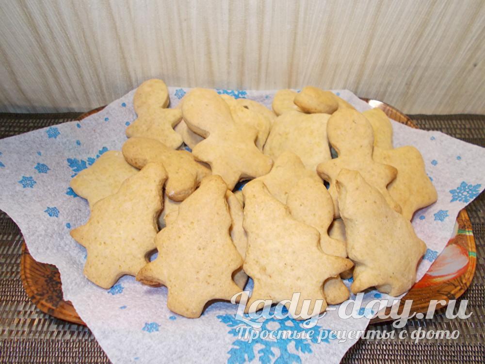 простой рецепт новогоднего печенья