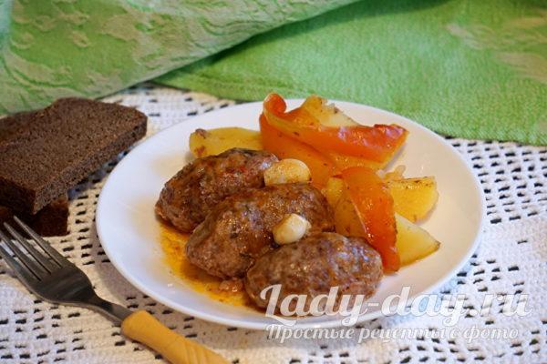 Котлеты с картошкой, рецепт
