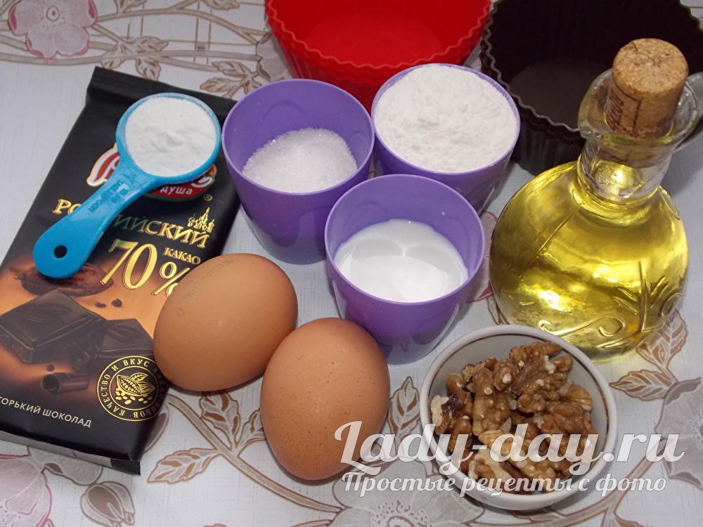 продукты для кексов