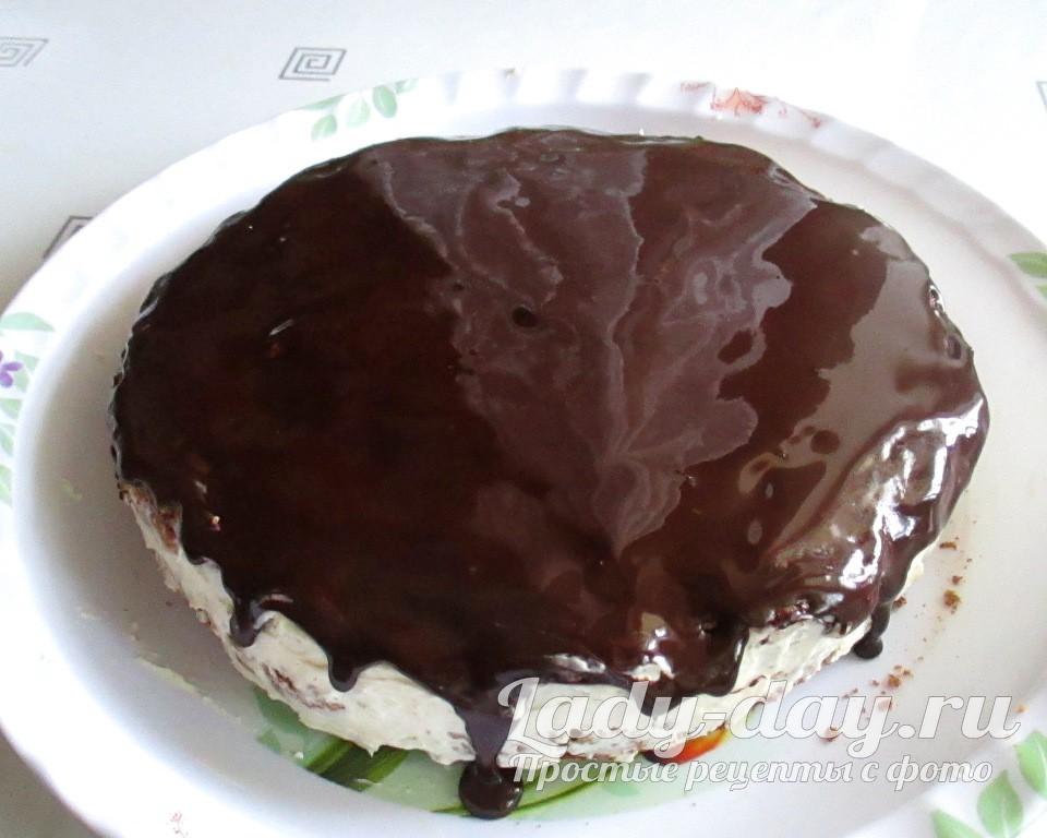 торт покрыть глазурью