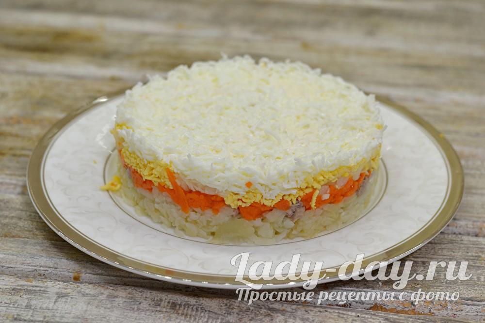 Салат с печенью трески - рецепт с фото очень вкусный