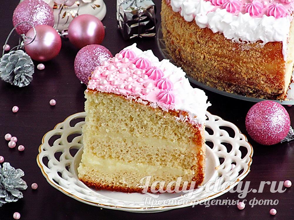 рецепт с фото бисквитного торта Офелия