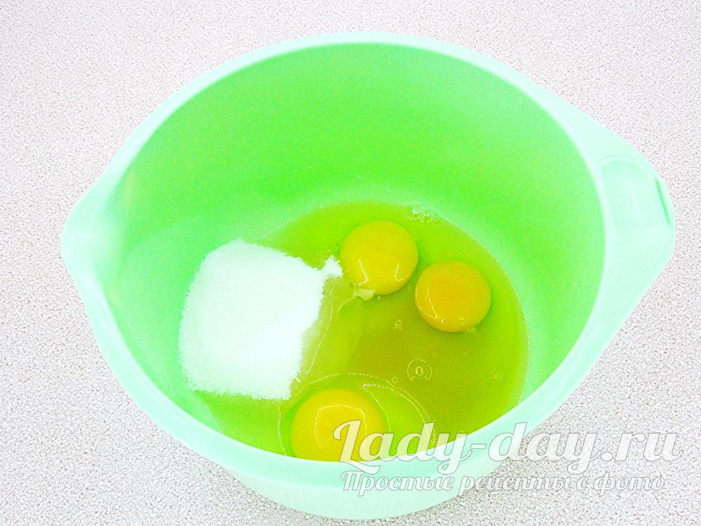 яйца, сахар, мед