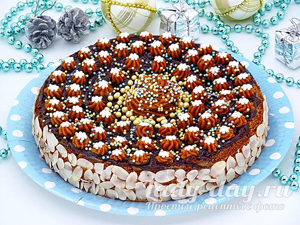 медовый торт самый вкусный медовик