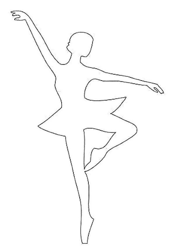 танцовщина шаблон