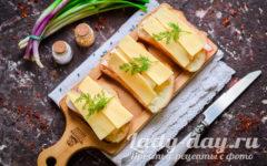 бутеры с сыром