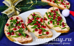 бутерброды с икрой мойвы