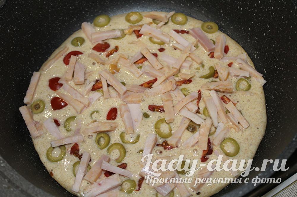 пп пицца на сковороде