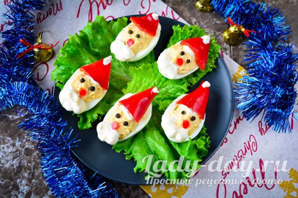новогодние яйца
