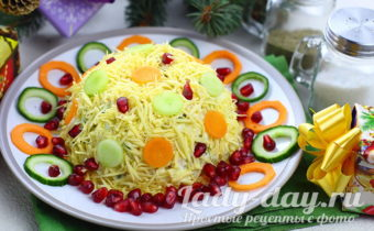 салат на новый год 2019 бесподобно вкусный салат